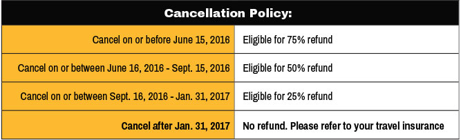 Legends Cruise Cancellation Policy